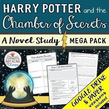 Harry Potter and the Chamber of Secrets Novel Study Unit M