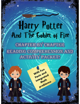 Harry Potter and the Goblet of Fire Comprehension Unit