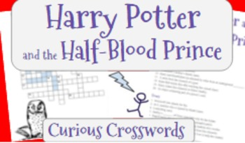 Harry Potter and the Half-Blood Prince (Book 6)- Worksheet