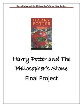Harry Potter and the Philosopher's Stone Final Project