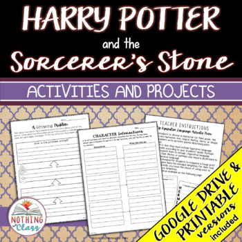 Harry Potter and the Sorcerer's Stone: Reading Response Ac