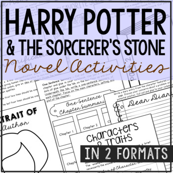 Harry Potter and the Sorcerer's Stone Interactive Notebook