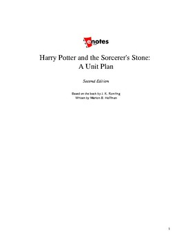 Harry Potter and the Sorcerer's Stone Lesson Plan