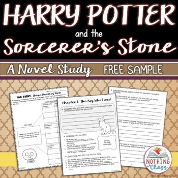Harry Potter and the Sorcerer's Stone Novel Study Unit: FR