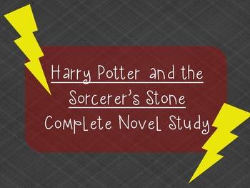 Harry Potter and the Sorcerer's Stone Novel Study