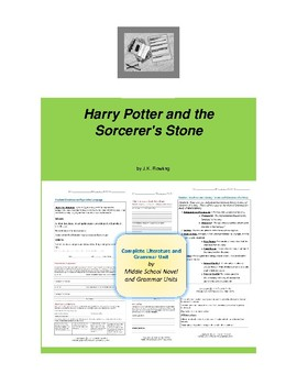 Harry Potter and the Sorcerer's Stone Novel Unit