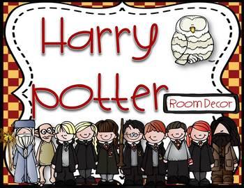 Harry Potter room decor - calendars, posters, ipick, daily