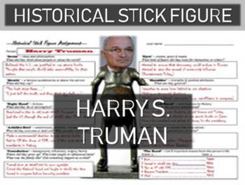 Harry Truman Historical Stick Figure (Mini-biography)