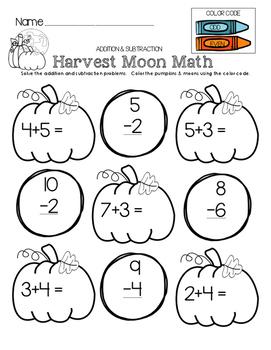 Harvest Moon Math