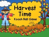 Harvest Time Koosh Ball Game