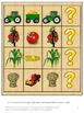 Autumn or Fall Farm Harvest Kindergarten Math & Literacy F