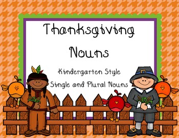 Harvest and Thanksgiving Themed Noun Activity