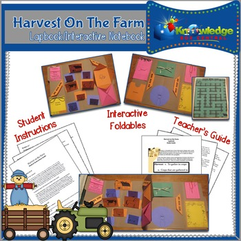 Harvest on the Farm Lapbook / Interactive Notebook