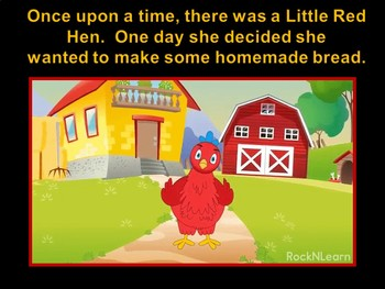 Harvesting Crops:Making Bread With the Little Red Hen (animated)