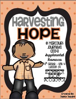 Harvesting Hope (Journeys 4th Gr. - Supplemental Materials)