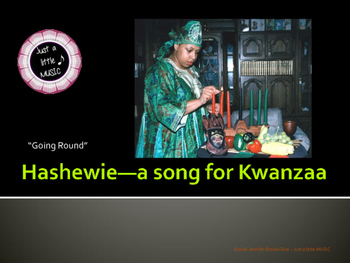 Hashewie--a song for Kwanzaa with Orff accompaniment