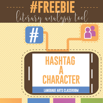 Hashtag A Character: Activities for Any Novel or Short Story