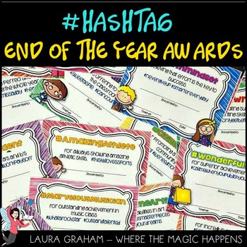 Hashtag End of the Year Awards