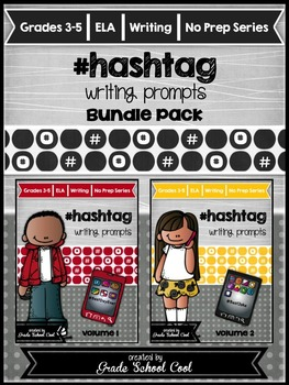 Hashtag Writing Prompts Bundle Pack