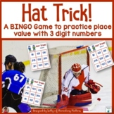 Place Value: Hockey Themed BINGO Game