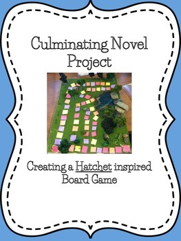 Hatchet Culminating Project Board Game