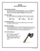 Hatchet Final Test/ Assessment