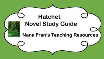 Hatchet Novel Study Guide