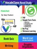 Hatchet Book Novel Study Guide PDF - READING QUIZZES | VOC