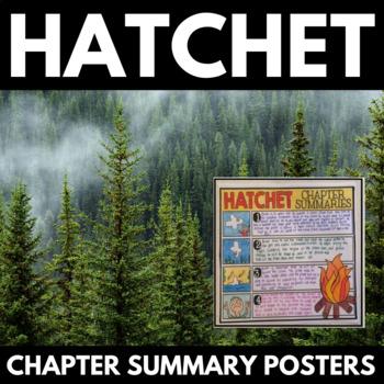 Hatchet Novel Study Unit Literature Guide - Gary Paulsen -