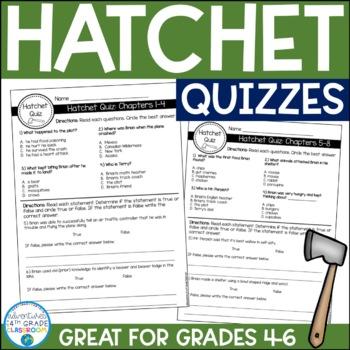 Hatchet Quizzes