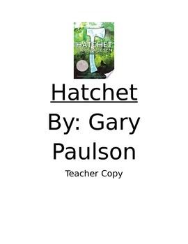 Hatchet-Vocabulary