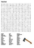 Hatchet Word Search