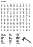 Hatchet Word Search