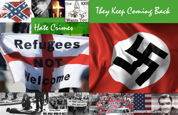 Hate Speech Acts Crime Law ~ FREE POSTER