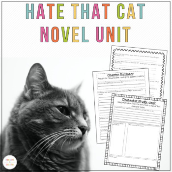 Hate that Cat Poetry Unit
