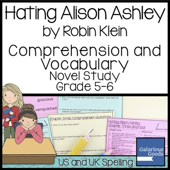Hating Alison Ashley: Comprehension and Vocabulary