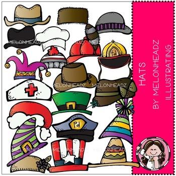 Melonheadz: Hats clip art - COMBO PACK