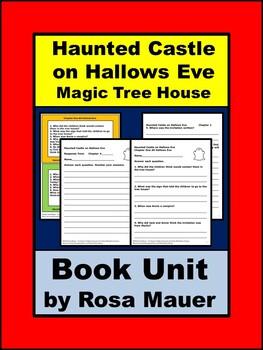 Haunted Castle on Hallows Eve Magic Tree House Book Unit