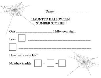 Haunted Halloween Number Stories