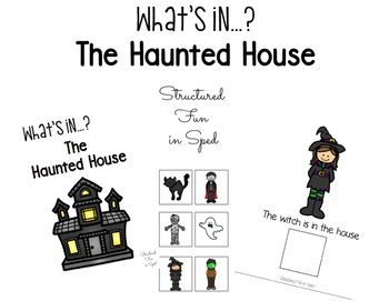 Haunted House Adapted Book