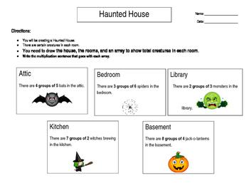 Haunted House Multiplication