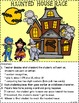 Haunted House Race - Number Recognition, Plus 1, Minus 1,