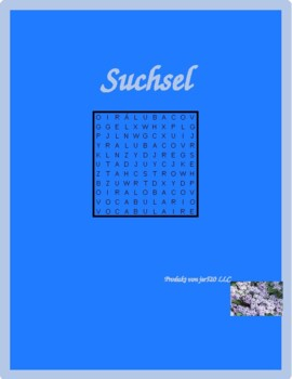 Hausarbeit (Chores in German) Wordsearch for differentiate