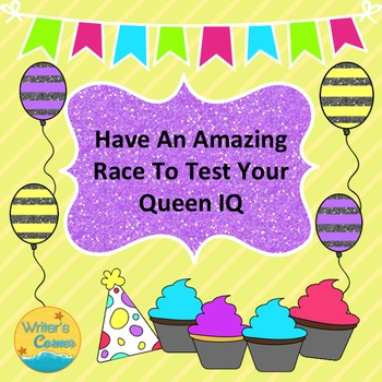Have An Amazing Race To Test Your Queen, Substitute Plan,