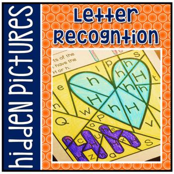 Have Fun Reading - Alphabet Letter Recognition Hidden Pict