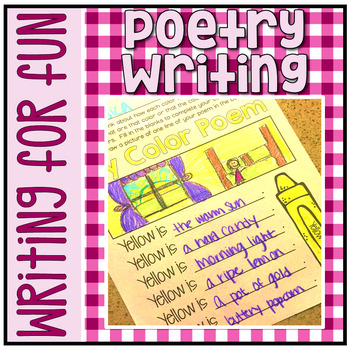 Have Fun Writing - Picture This! Poetry Writing & Illustrating