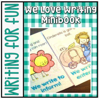 Have Fun Writing - We Love Writing student booklet - types