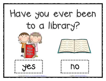Have You Ever Been to a Library? Class Graph for Back to School