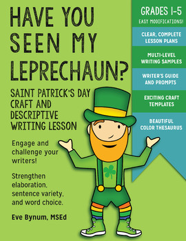 Have You Seen My Leprechaun? St. Patrick's Day Descriptive