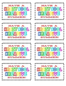 Have a Krazy Kool Kreative Summer